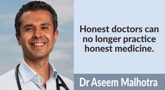 Honest Doctors can no longer practice honest medicine